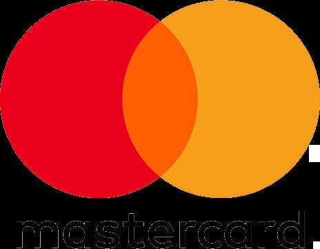 Betaling via Mastercard geaccepteerd